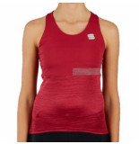 Sportful Fietsshirt women giara top red rumba