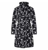 HappyRainyDays Regenjas coat brisa blossom black off white