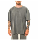 PREACH T-shirt uomo oversized energy t charcoal grey 206054.730-1