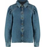 Harper & Yve Cara longsleeve blouse blue denim