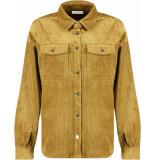 Harper & Yve Yade blouse brass gold