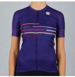 Sportful Fietsshirt women vélodrome short sleeve jersey violet
