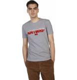 Antwrp T-shirts grey chiné