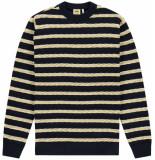 Kultivate Knit herringbone dark navy
