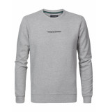 Petrol Industries Sweater 9038 light grey melee