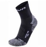 UYN Sokken men winter pro run black pearl grey