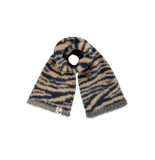 Looxs Revolution Gebreide col gevoerd met fur voor meisjes in de kleur
