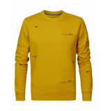 Petrol Industries Sweater 1091 antique yellow