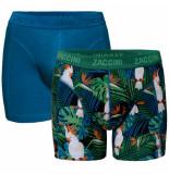 Zaccini heren boxershorts 2 pack tropical -