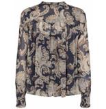 Mos Mosh Macha persia blouse donker