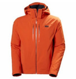Helly Hansen Ski jas men alpha lifaloft jacket patrol orange