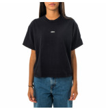 OBEY T-shirt donna tag customs crop tee 267621986.obk