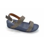 FitFlop Tm lottie glitter stripe bak trap sandals