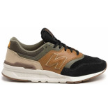 New Balance Cm997 sneakers brown-army-blue