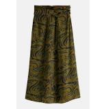 Maison Scotch 164827 printed midi-lenght high-rise skirt