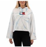 Tommy Hilfiger Boxy tie dye hoodie