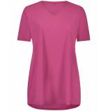 Plus Basics T-shirt tee v-neck