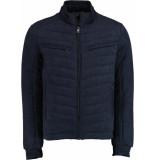 Bos Bright Blue River jacket 21301ri01sb/290 navy