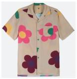 OAS Blouse men daisy shirt