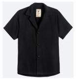 OAS Blouse men black cuba terry shirt
