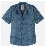 OAS Blouse men wavy terry shirt
