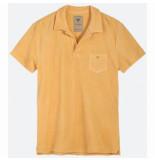OAS Polo men peach terry shirt