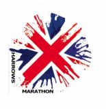 Harrows marathon flight 1545 union jack -