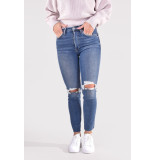 Re/Done Jeans 90s high rise ankle crop 190-3whrac/b