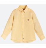 OAS Blouse kids yellow monkey linen shirt