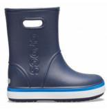 Crocs Regenlaars kids crocband rain boot navy bright cobalt