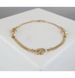 Christian Gouden olifanten armband