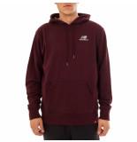 New Balance Felpa uomo essentials embroidered hoodie mt11550nby