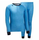 Helly Hansen Junior thermo ondergoed warm set blauw