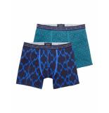 Scotch & Soda Boxer printed boxer set azul/blue blauw