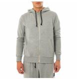 Shoe Felpa uomo basic zip hooded sweatshirt zane0101.gry