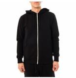 Shoe Felpa uomo basic zip hooded sweatshirt zane0101.nvy