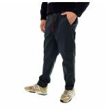 Shoe Pantaloni tuta uomo gabardine pants with elastic waist paz85100.nvy