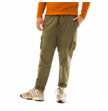 Shoe Pantaloni uomo gabardine cargo pants with elastic waist pitt85100.army