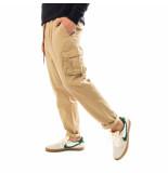 Shoe Pantaloni uomo gabardine cargo pants with elastic waist pitt85100.snd