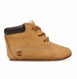 Timberland Infant crib bootie with hat wheat