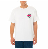 OBEY T-shirt uomo blood and roses organic tee 163002554.wht