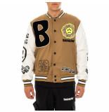 Barrow Giacca uomo cloth-ecoleather college jacket 029565.094