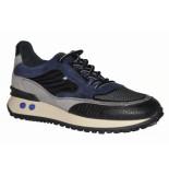 Floris van Bommel Artikelnummer 16488 vinti sneaker suède combi blauw (01)
