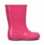 Hunter Regenlaars original kids first classic gloss salt pink