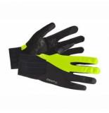 Craft Fietshandschoen all weather glove flumino black