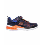Skechers Schoen sven navy orange blauw