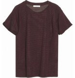 Circle of Trust W17.110.4880 agnes tee burgundy