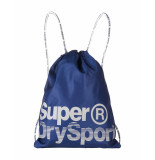 Superdry Rugtas dave navy white blauw