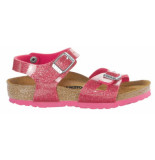 Birkenstock Rio magic galaxy bright rose narrow roze