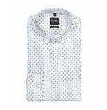 Olymp Overhemd stan white blue